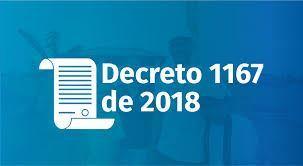 Decreto N° 1167